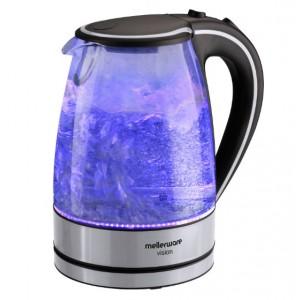 Mellerware 1.7L Vision Glass Kettle - Blue