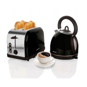 Mellerware 46041BK Eclipse Black Breakfast Pack