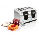Mellerware Sigma 4 Slice Stainless Steel Toaster