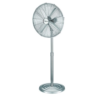 "Midea 16"" Metal Pedestal Fan"