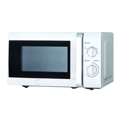 Midea MM720CTB-S 20L Manual Microwave – Silver