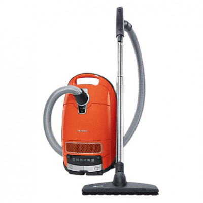 Miele SGDA0 C3 Comfort Parquet Power Line Cylinder Vacuum Cleaner - Koi Orange