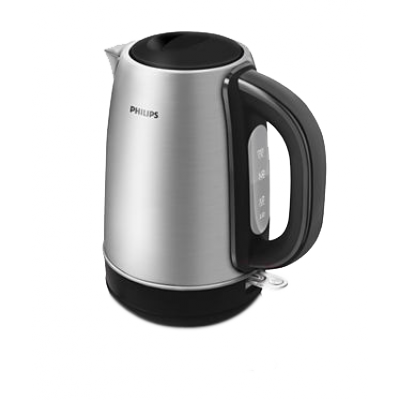 Philips 1.7L Stainless Steel Brushed Kettle