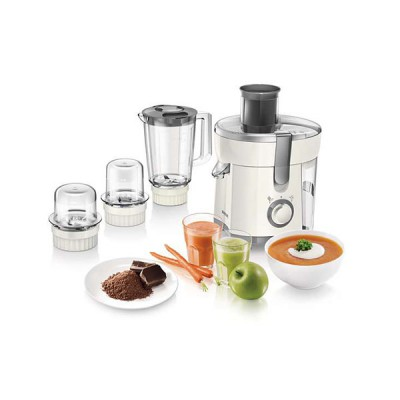 Philips HR1847 Viva Collection Juicer, Blender, Grinder and Chopper