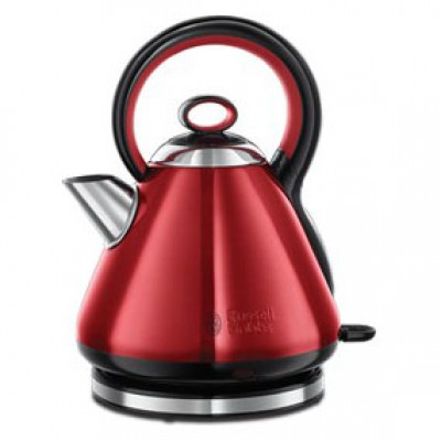 Russell Hobbs 18258 1.7L Red Legacy Kettle - Red