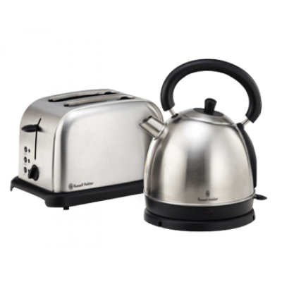 Russell Hobbs Brushed Stainless Steel Breakfast Pack
