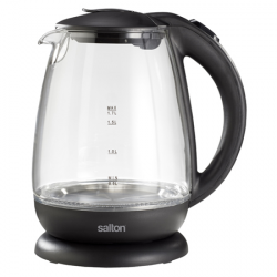 Salton 1.7L Cordless Glass Kettle 60E