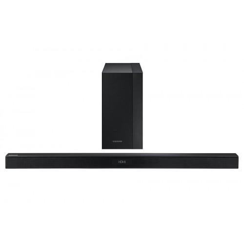 samsung hw k450 300w 2 1 ch soundbar with sub woofer. Black Bedroom Furniture Sets. Home Design Ideas