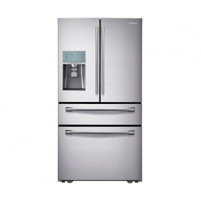 Samsung RF31FMESBSL 623L  French Door Fridge - Sparkling Water Dispenser
