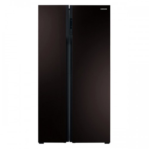 samsung rs552nrua9m 600l side by side refrigerator. Black Bedroom Furniture Sets. Home Design Ideas