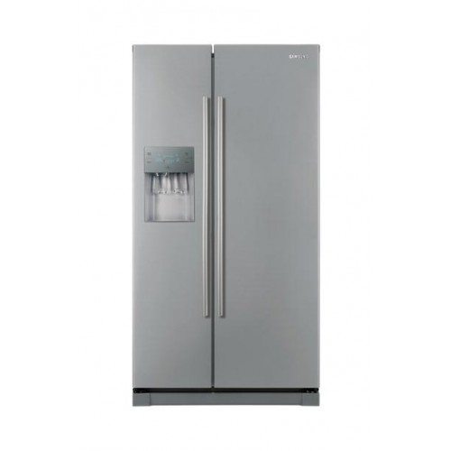 samsung rsa1dhmg 660l auto water ice dispenser side by side refrigerator. Black Bedroom Furniture Sets. Home Design Ideas