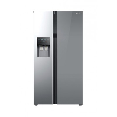 Samsung  RS51K54F02A 510L Side By Side Fridge with Auto Water & Ice Dispenser