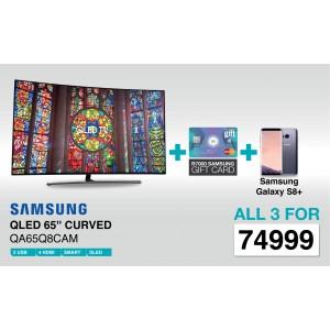 Samsung QA65Q8CAM 65 Inch Curved 4K Smart QLED TV - Deal 1