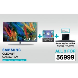 Samsung QA65Q7FAM 65 Inch 4K Smart QLED TV - Deal 2