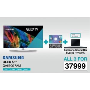Samsung QA55Q7FAM 55 Inch 4K Smart QLED TV - Deal 4