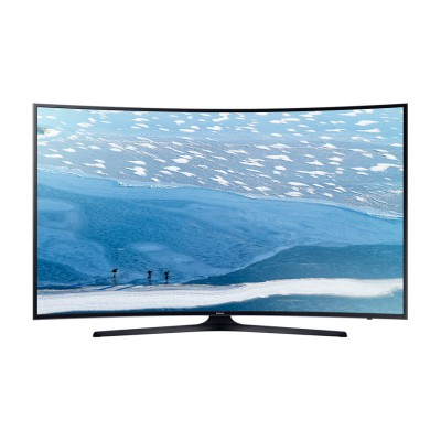 "Samsung UA55KU7351 55"" UHD 4K Curved Smart TV"