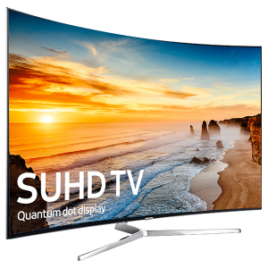 Samsung UA55KS9500 55 Inch Curved 4K SUHD TV