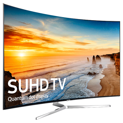 Samsung UA55KS9500 55 Inch Curved 4K SUHD TV