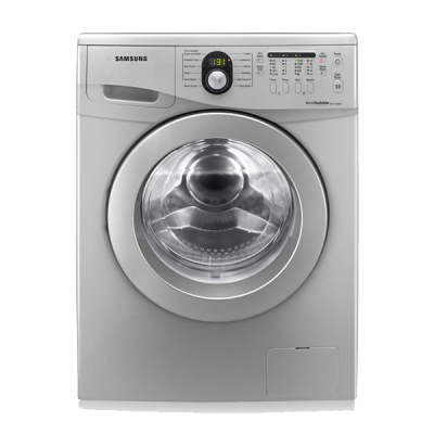 Samsung WF1702W5S 7kg Ecobubble Front Loader - Silver