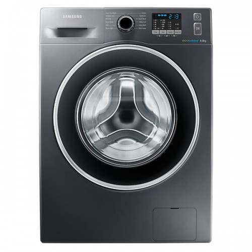 samsung wf80f5ehw2x 8kg front load washing machine. Black Bedroom Furniture Sets. Home Design Ideas