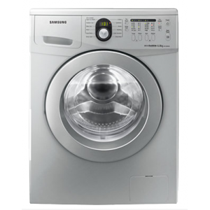 Samsung WF1600W5S 6kg Eco Bubble Front Loader - Metallic