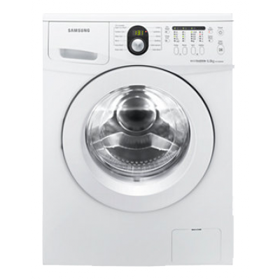 Samsung WF1600W5W 6kg Eco Bubble Front Loader - White