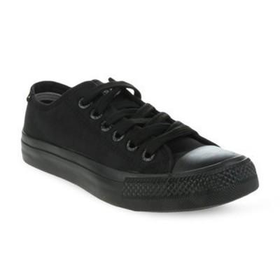 Mens Levis Dunk Pitch Lo Nylon Sneakers - Black