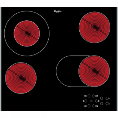 Whirlpool AKT8210/LX 60CM Electric Glass Hob