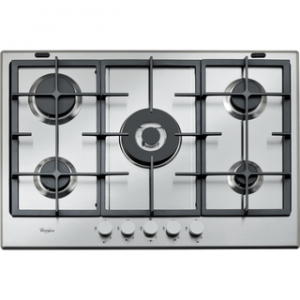 Whirlpool GMA7522/IX 75CM Gas on Stainless Steel Hob