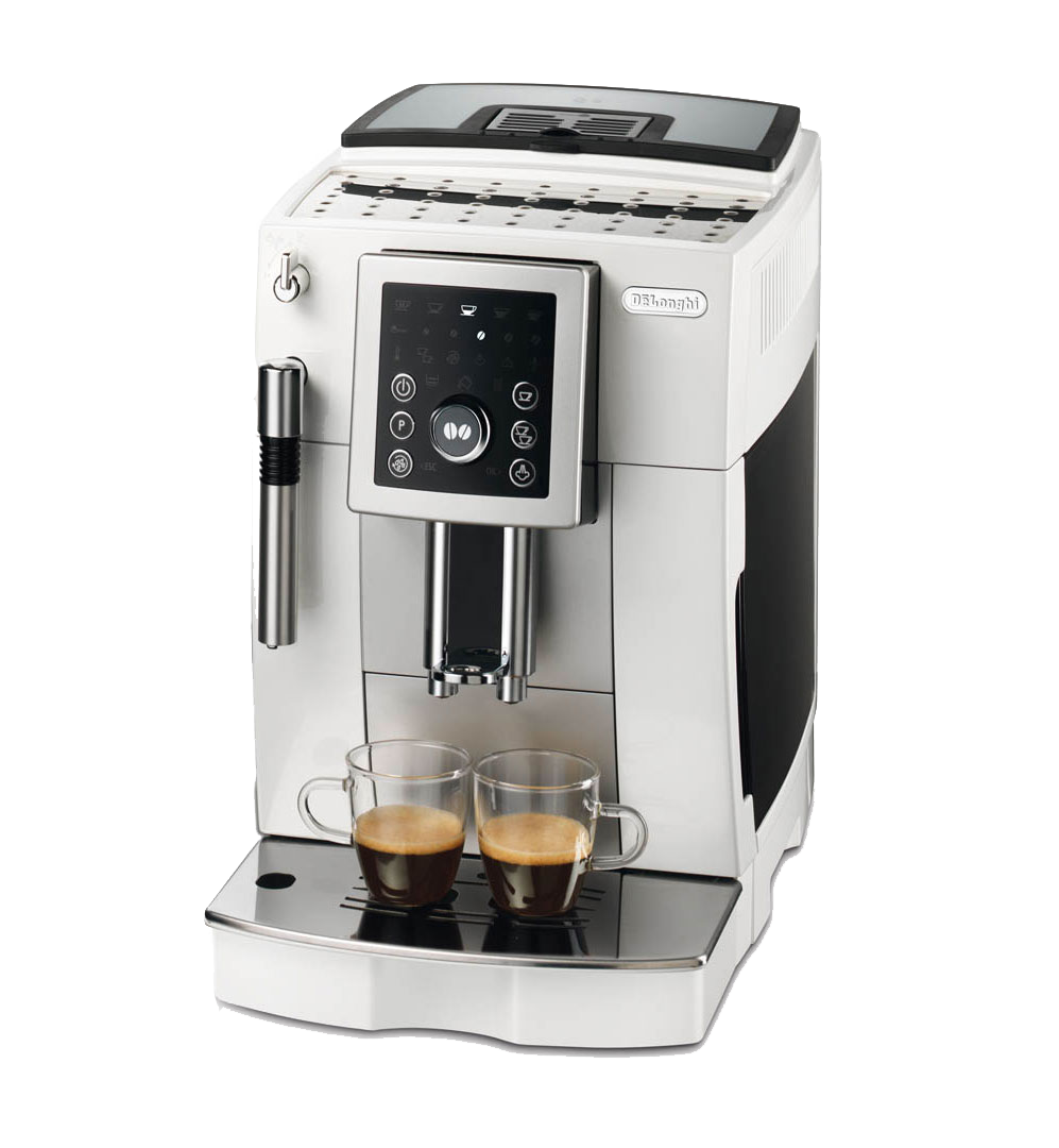 Delonghi Coffee Maker Ec7 : Delonghi ECAM 23.210.W Bean To Cup Coffee Maker Coffee Machine