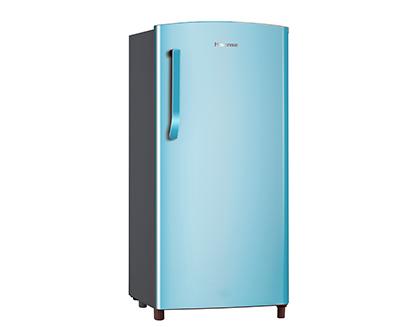 Hisense h200rblu 150l bar fridge blue bar fridge for Ok furniture kitchen units