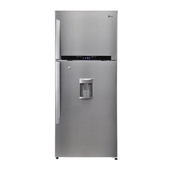 Top Freezer Combi Lg Gl B492glpl 421l Top Freezer Combi Refrigerator Water Dispenser