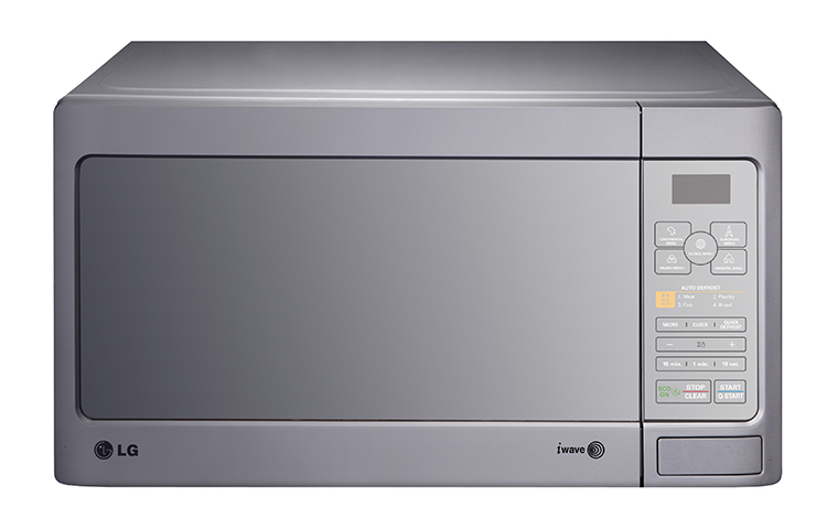 Lg ms5643gars 56l microwave oven shop lg microwaves for Mirror for lg tv