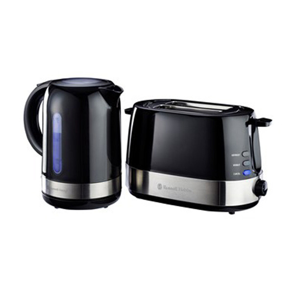 russell hobbs breakfast pack gloss black. Black Bedroom Furniture Sets. Home Design Ideas