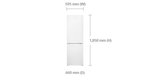 samsung-rb31hsr3ww-329l-frost-free-and-multi-flow-bottom-freezer-refrigerator-dimensions