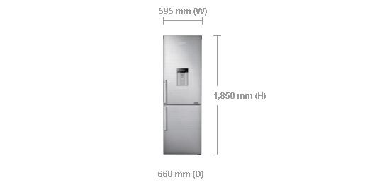 samsung-rb31hwj3dsa-400l-frost-free-bottom-freezer-refrigerator-dimensions