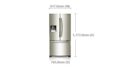 Dimensions Of Samsung Double Door Refrigerator Pictures
