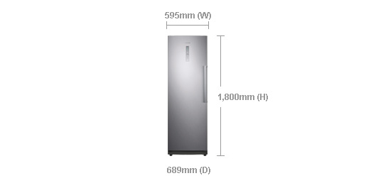 samsung-rz28h6150ss-306l-upright-freezer-dimensions