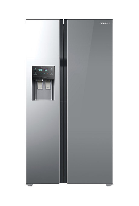 samsung rs51k54f02a 510l side by side fridge samsung. Black Bedroom Furniture Sets. Home Design Ideas